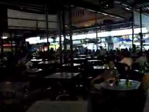 Night Scene At Anson Road Dimsum