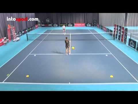 Tennis Lesson: Volley - Advanced Practice Drills