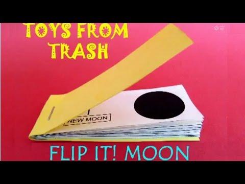 Flip It Moon | Telugu | Wonderful Flip Book