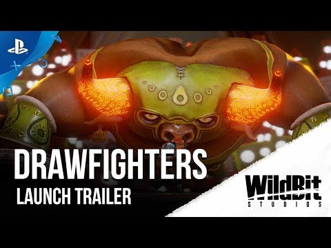DrawFighters - Launch Trailer | PS4