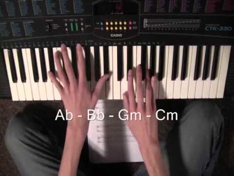 Titanium Easy Piano Tutorial Youtube