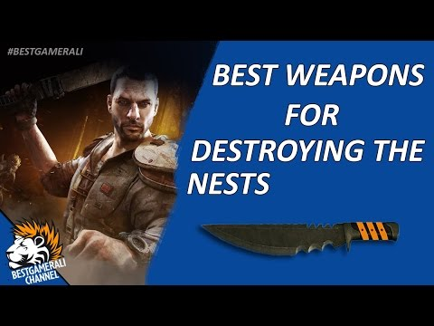 how to make the best weapon dying light