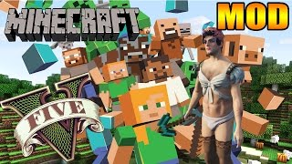 MOD DO MINECRAFT NO GTA V PC - MOMENTOS ENGRAÇADOS - O MASSACRE DA PICARETA DE DIAMANTE