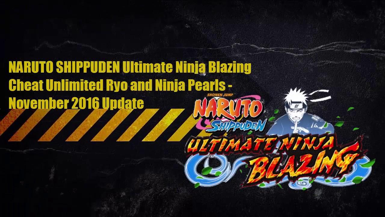 Naruto Shippuden Ultimate Ninja Blazing Cheat Unli