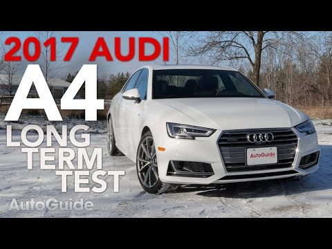 2017 Audi A4 Long-Term Test Introduction