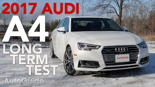 2017 Audi A4 Long-Term Test Introduction