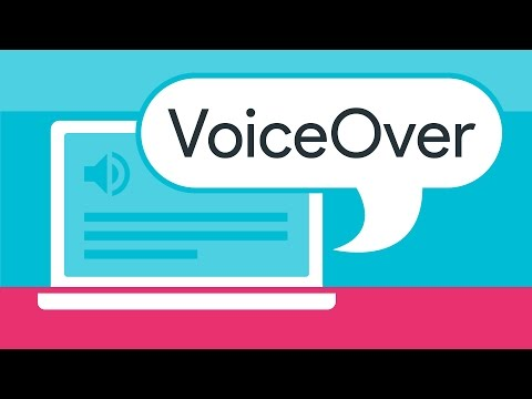 Screen Reader Basics Voiceover