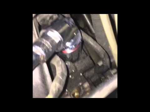 Replacing oil pressure sending unit on 2003 Chevy Avalanche