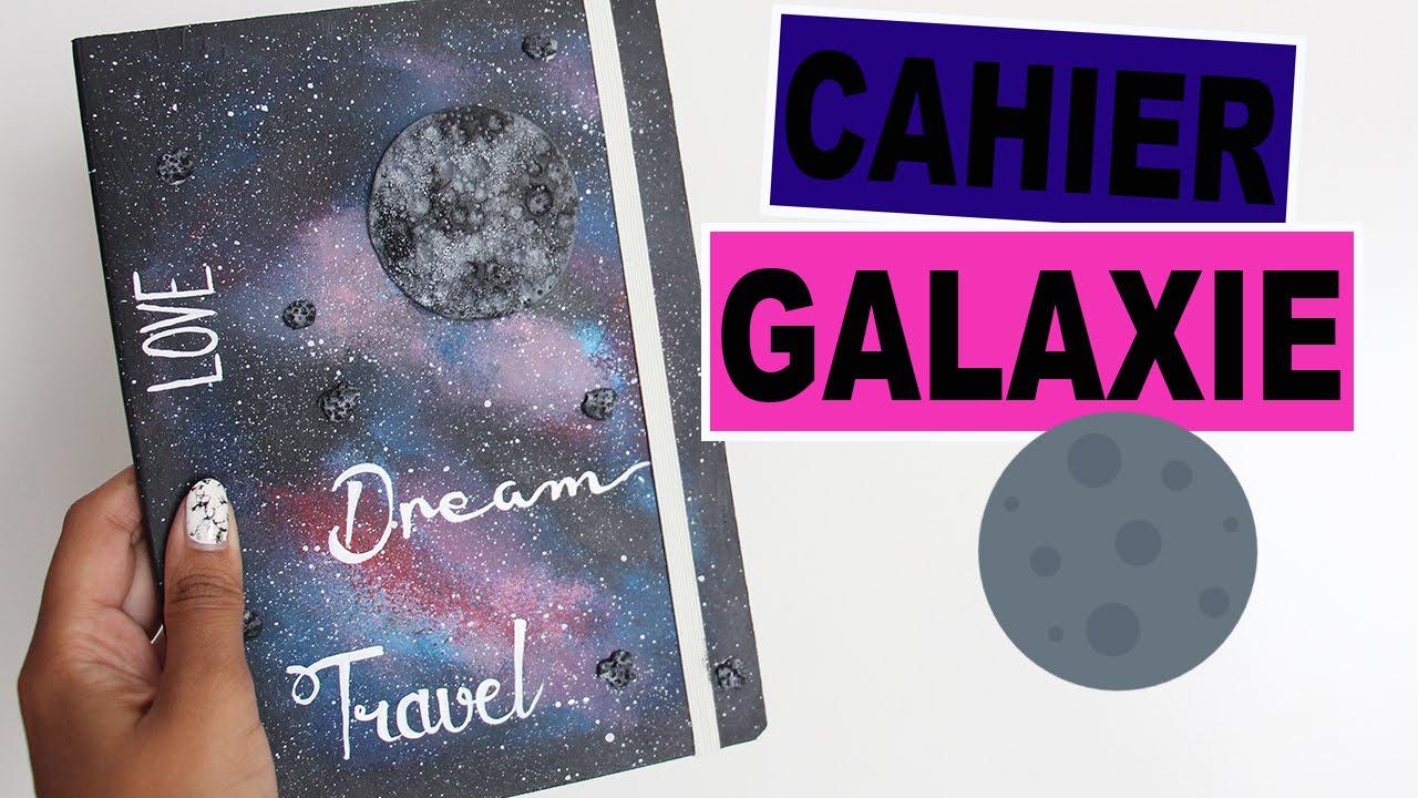 Cahier galaxie peinture et fimo youtube for Comment faire la peinture
