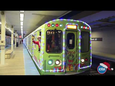 Jewel-Osco CTA Holiday Trains & Bus 2017