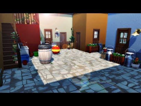 VILA DO CHAVES (El Chavo del Ocho) │The Sims 4 (Speed Build)
