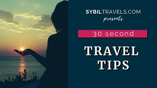 30 Second Travel Tip: Must Have for CRUISES!