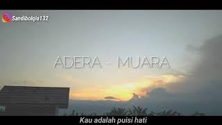 Gambar cover Story wa keren lagu adera-Muara 🎶