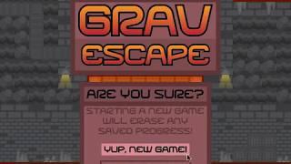Grav Escape Walkthrough