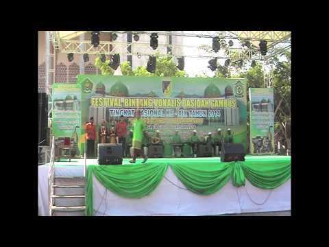 LASQI - JUARA 1 ANAK2 PUTRA FESTIVAL BINTANG VOKALIS QASIDAH GAMBUS NASIONAL XIX 2014 PALU SULTENG