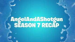 Epic Sent Me A Fortnite Season 7 Recap Video! | USE CREATOR CODE ANGELANDASHOTGUN