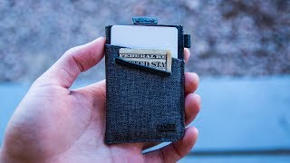 My Favorite Minimalist Wallet. EVER!!! - Loft of Cambie WOLYT SLEEVE with RFID Shield Review