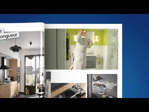 castorama catalogue salle de bain youtube. Black Bedroom Furniture Sets. Home Design Ideas