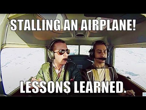 GoPro Hero: Full Power ON and OFF Stalls, a spin, and Emergency Proc. in Cessna 152
