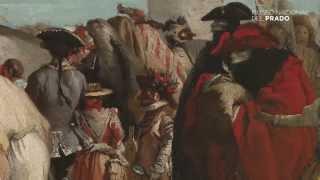 El charlatán veneciano y El mundo nuevo, Giandomenico Tiepolo, (Hacia 1765), por Andrés Úbeda