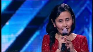 Алия Кобылдина. X Factor Казахстан. Прослушивания. Четвертая серия. Пятый сезон.