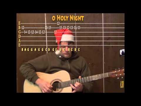 O Holy Night (Christmas) Lead Guitar Cover Lesson with TAB