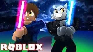DIE AMAZING LIGHTSABER SIMULATOR IN ROBLOX!! (Säbelsimulator)