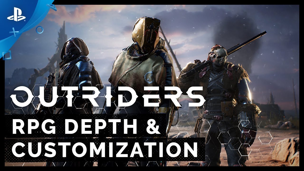 OUTRIDERS - RPG Depth and Customization Feature