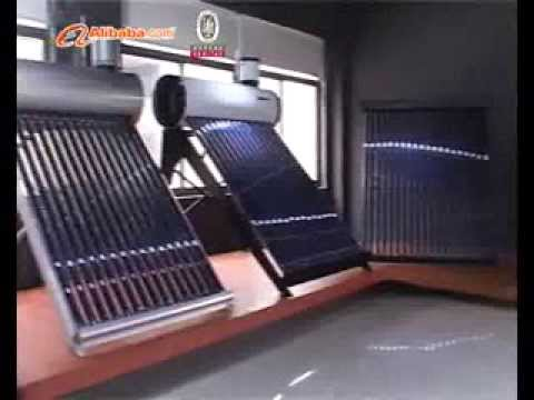 Manufacturer of Solar Water Heater  in China