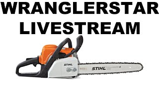 Chainsaw IRL Livestream Wranglerstar