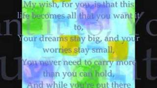 Rascal Flatts- My Wish (Instrumental/W lyrics)