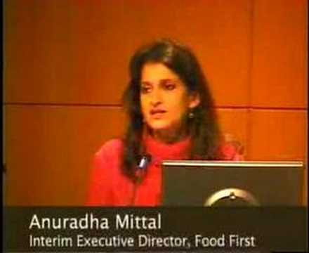 Food Sovereignty and the new Face of Global Agriculture
