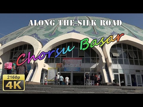 Museum, Bazaar, Theater and Top Floor Bar in Tashkent - Uzbekistan 4K Travel Channel