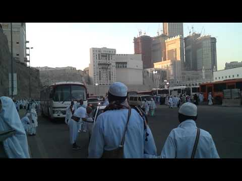 streets in mecca