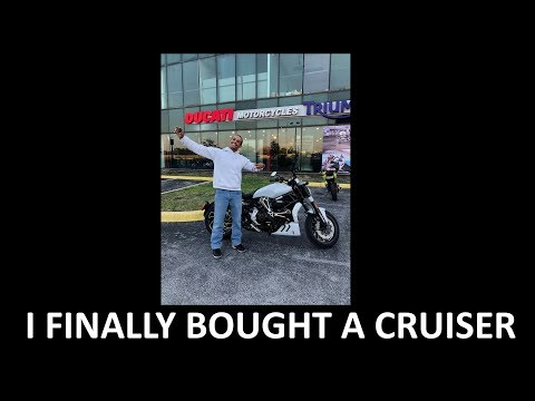 I bought a Ducati xDiavel S  My first cruiser...