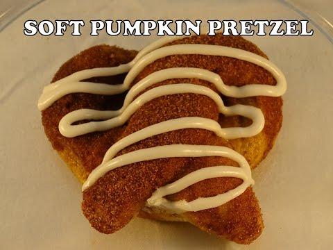 Cinnamon Sugar Soft Pumpkin Pretzels - With Yoyomax12