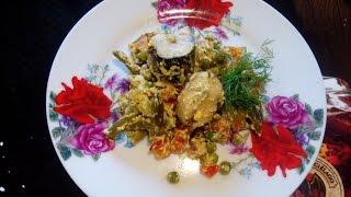 Рыба с овощами в мультиварке  Рыба с овощными смесями