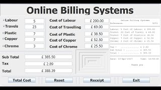 How to create billing systems with eclipse using java program support more videos from dj oamen, visit poamen paypal https://www.paypal.me/poamen becom...