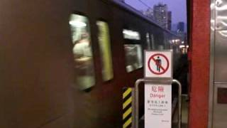 ktl k train stock a314 a313 departed from mtr kowloon bay station