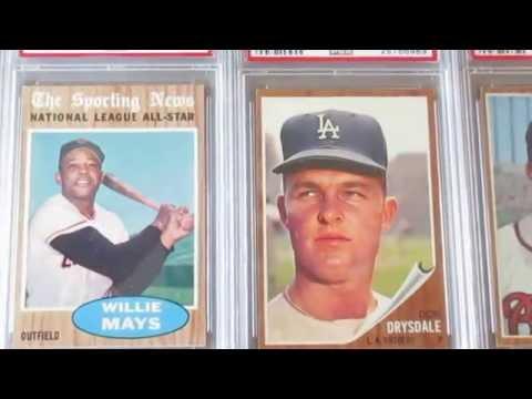 Recent Vintage PSA Baseball Card Pickups From 1949-1965