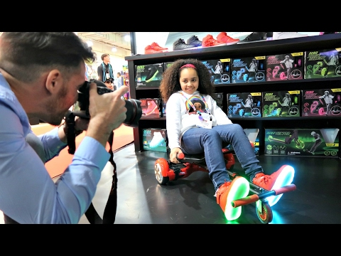 HOVERBOARD VS KART VS SCOOTER? Family Fun Games - Surprise Toys For Kids | Toys AndMe