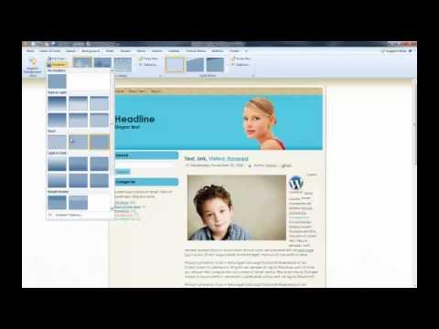 Artisteer Website Template and WordPress Theme Builder Software ...