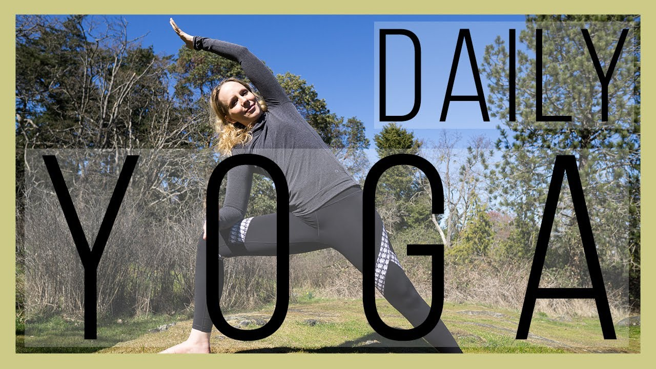 45 Mins Daily Hatha Yoga Routine 12 Poses You Should Do Daily Yoga With Melissa 479 Youtube