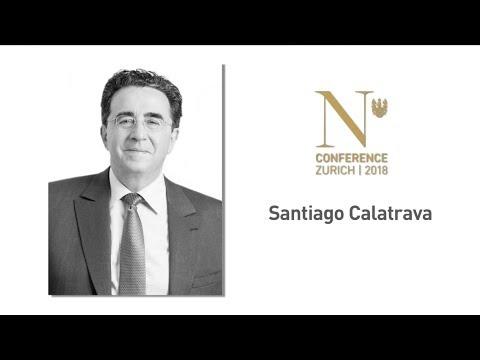 Santiago Calatrava at the N-Conference: 10-12 Oct. 2018 in Zurich, CH