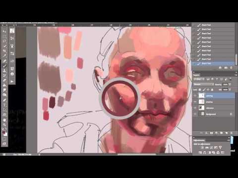 Alla Prima Digital Painting Demo