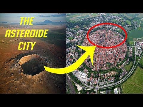 Nördlingen -the meteorite city (germany)