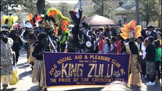 Krewe Of Zulu Parade 2018! Mardi Gras New Orleans