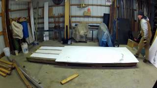 Building a dehumidifier wood kiln - part 1