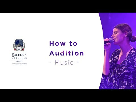 How to Audition - Music