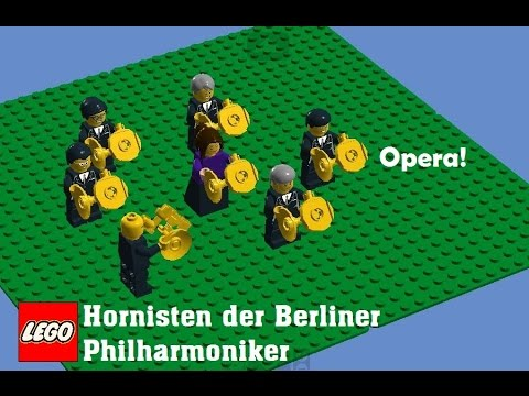 Hornisten der Berliner Philharmoniker on LEGO at Opera! album